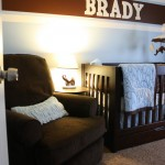 Number Six: Decorate my child's nursery