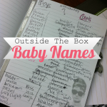 Outside the box baby names