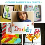 {5} Father's Day Crafts for Toddlers