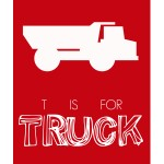 Free Printable – T is for Truck
