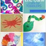 5 Eric Carle crafts {by book}