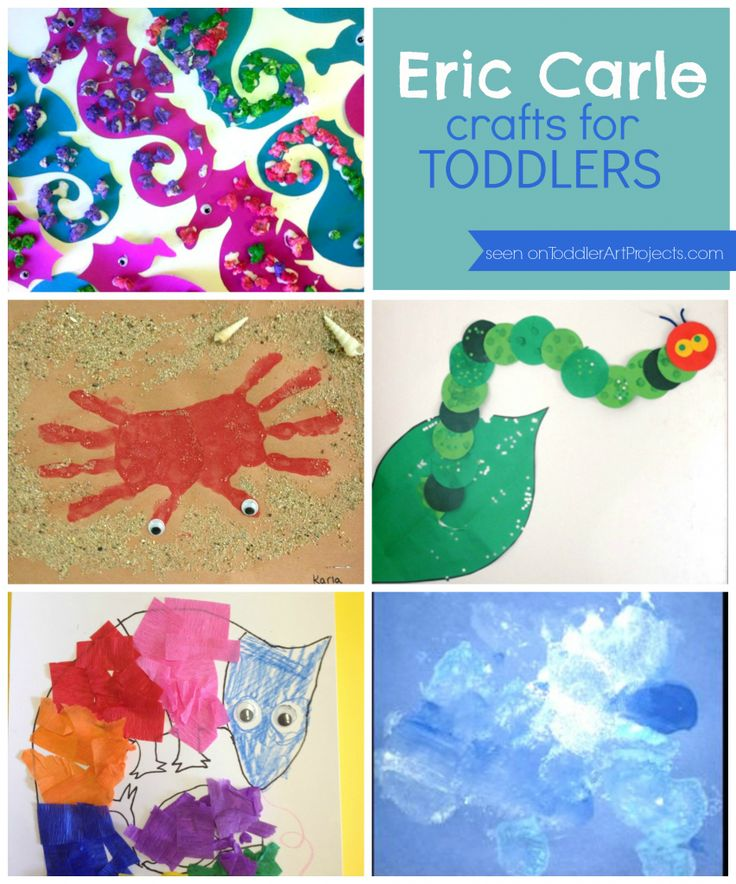 5 eric carle crafts by book love and marriage for Art and craft books for kids