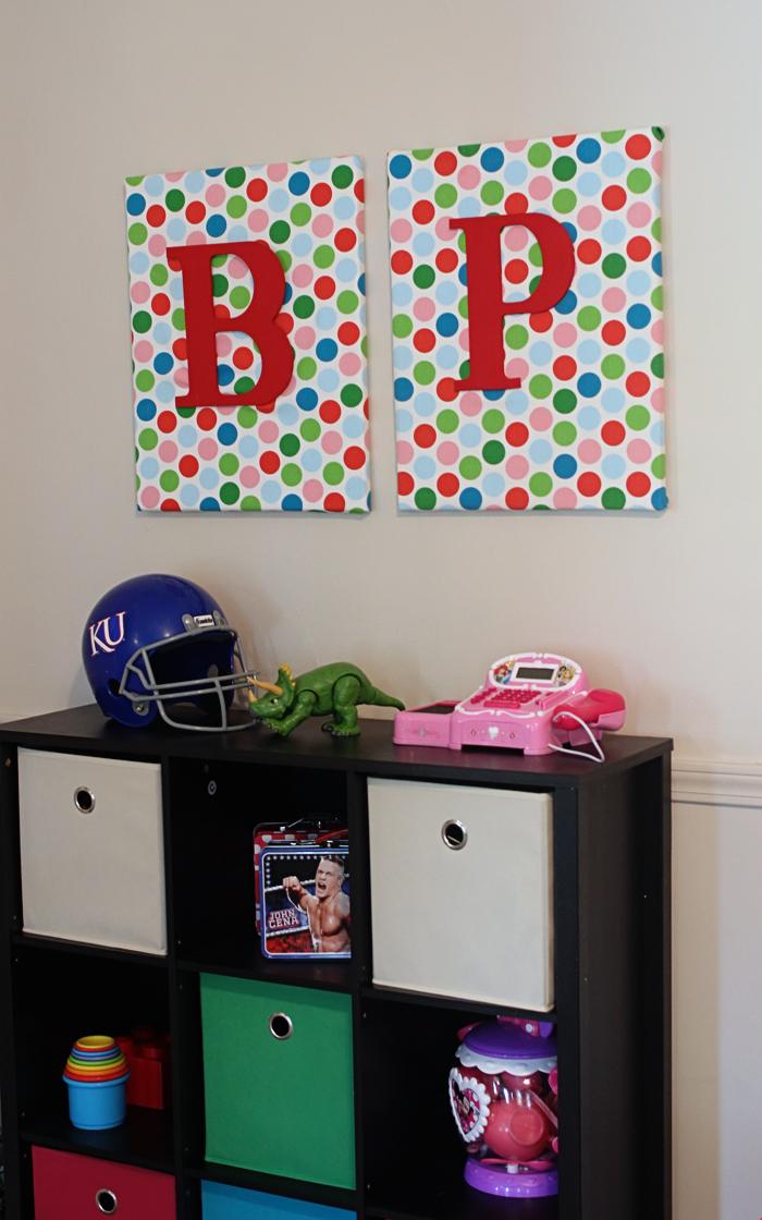 DIY Wall Art {for kids rooms}