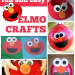 Fun & Easy Elmo Crafts
