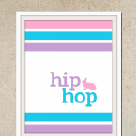 Free Printable :: Hip Hop