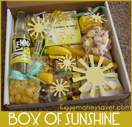 Sending Someone A Box Of Sunshine Love And Marriage