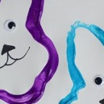 Easter Bunny Stamp Craft