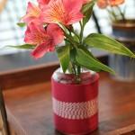DIY Twine Wrapped Jar