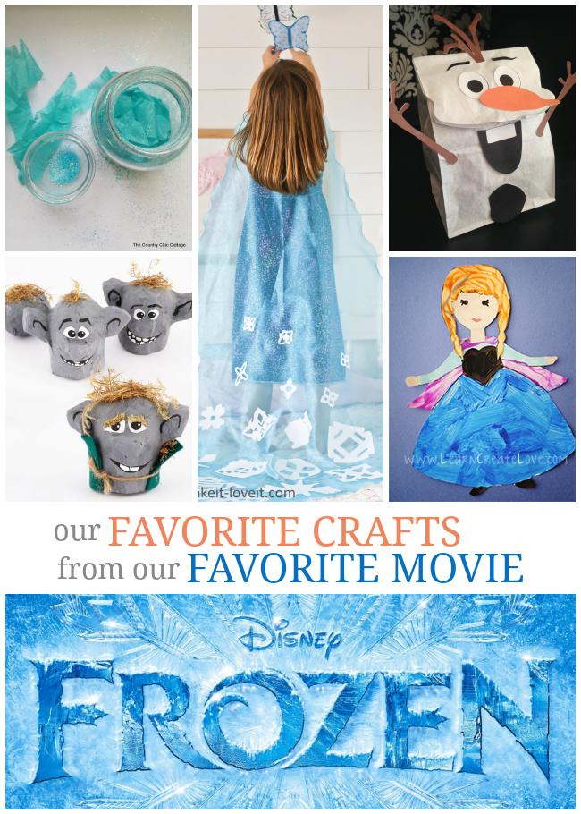 10 Fantastic Frozen Crafts