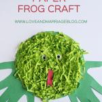 Frog Craft for Kids