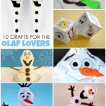 Frozen Crafts :: For The Olaf Obsessed