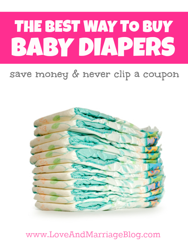 The Best Way To Buy Baby Diapers