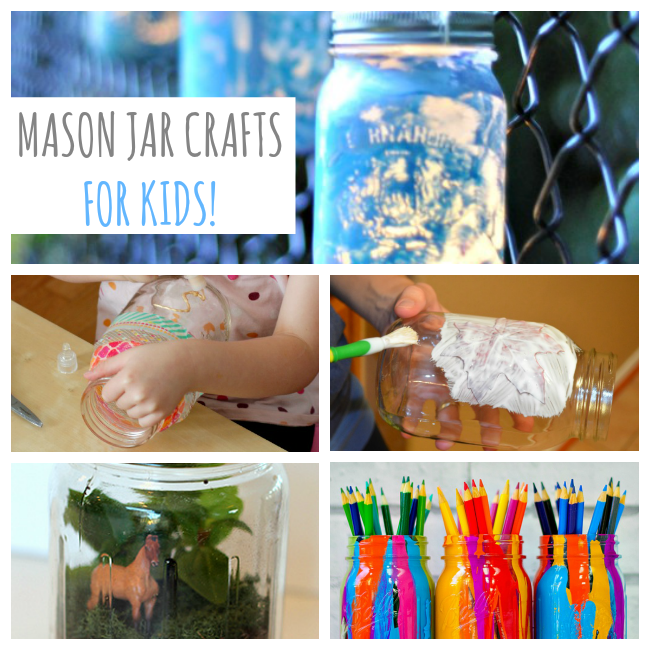 10 Mason Jar Crafts for Kids - Love and Marriage
