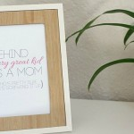 Free Printable {Motherhood Inspirational Quote}