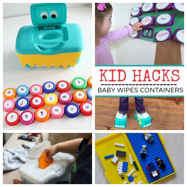 Baby Wipe Container Hacks
