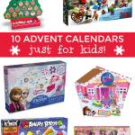 10 Super Cool Advent Calendars for Kids