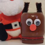 Cute Rudolph Craft for Kids