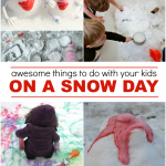 12 Awesome Things to Do With Your Kids On A Snow Day