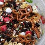 Festive Holiday Baking and Santa's Snack Mix