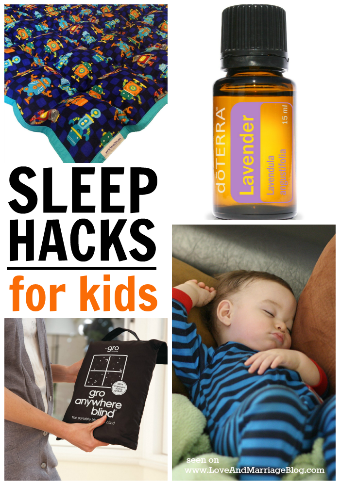 5 Quick Sleep Hacks for Kids