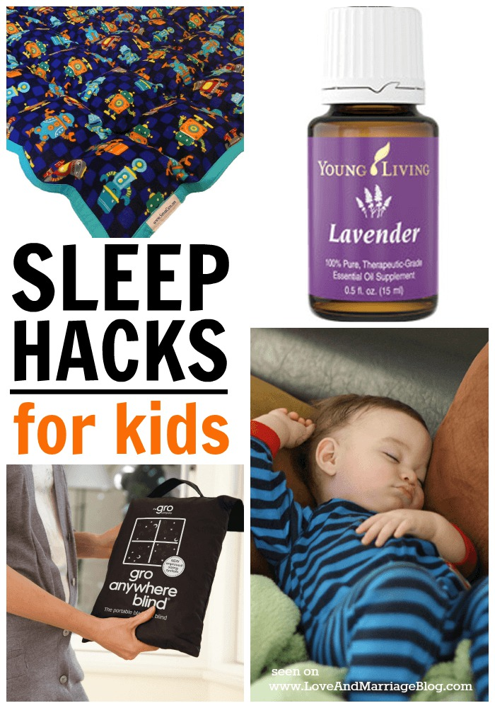 5 Quick Sleep Hacks for Kids