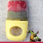 Ninja Turtles Healthy Homemade Popsicles