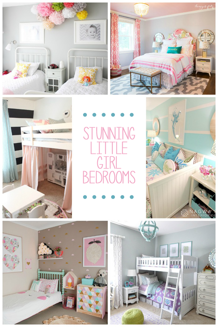 15 gorgeous little girl bedroom ideas love and marriage for Girl bedrooms ideas