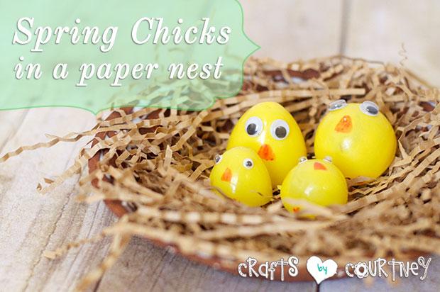 Spring Craft: Easter Chicks