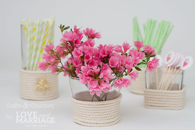 Vase Craft: Dollar Store Vase Makeover