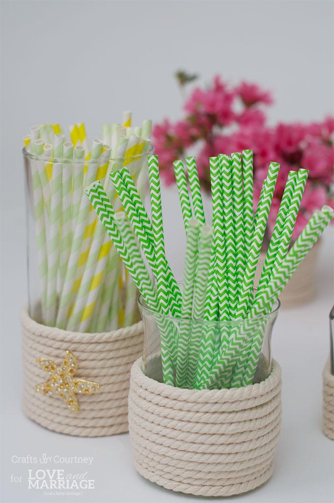 Easy DIY Vase Craft: Dollar Store Vase Makeover