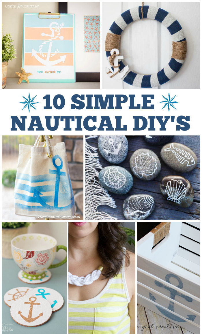 1000 images about home decor projects on pinterest for Nautical projects