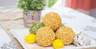 Easy DIY Decorative Split Pea Balls