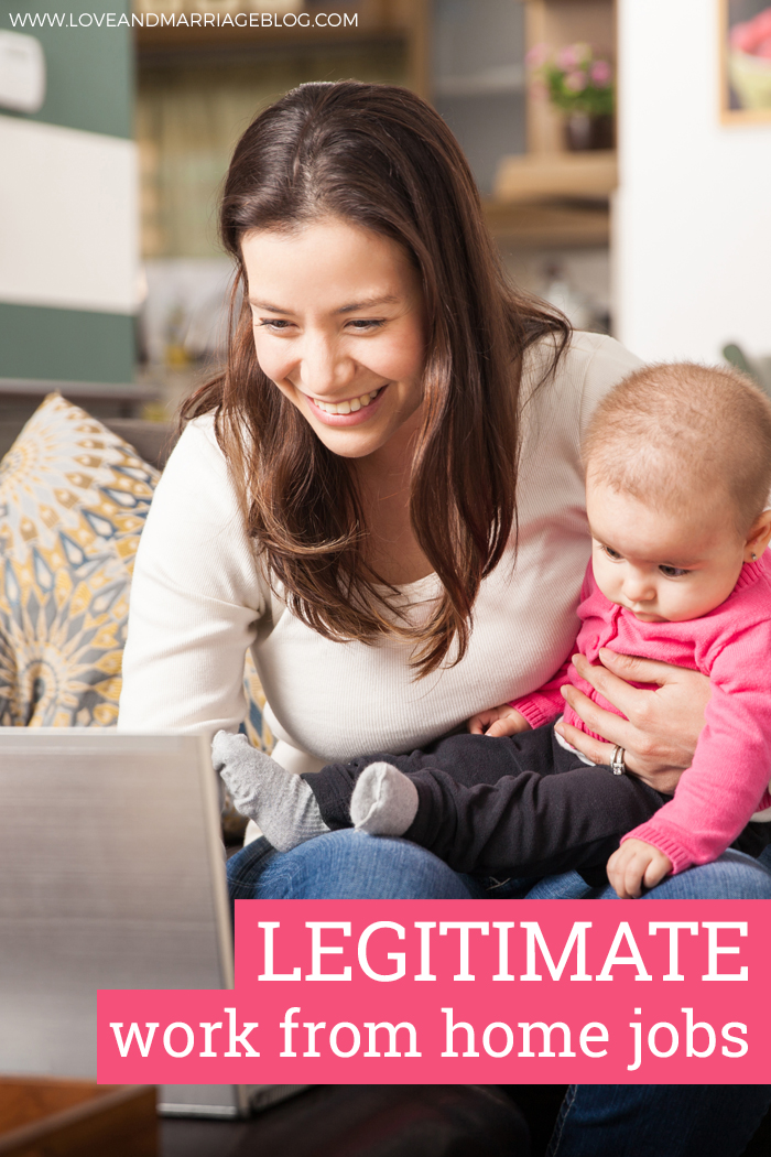 Legitimate Work From Home Jobs & Companies