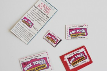 How to Get More Box Tops and Earn Money for Your School