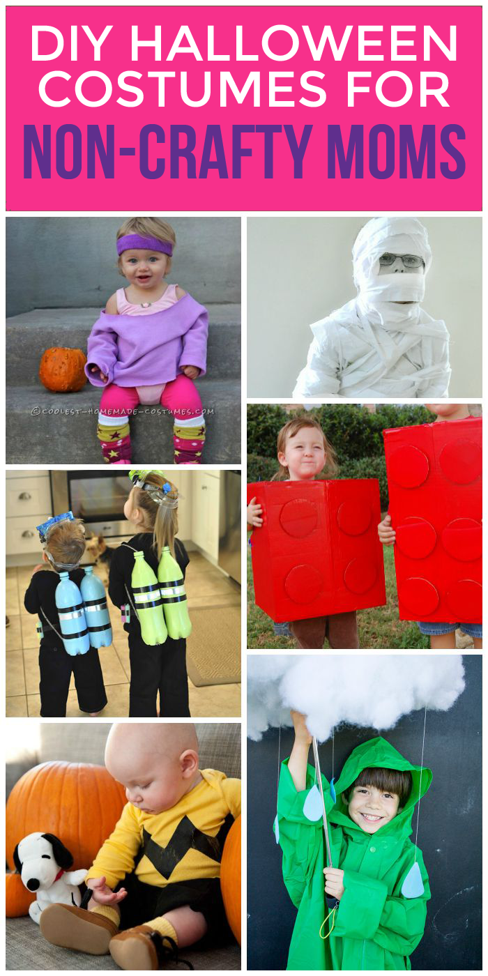 These DIY Halloween costumes are the best because anyone can do them!
