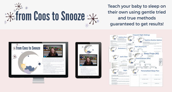From Coos to Snooze baby sleep course