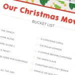 Christmas Movie Bucket List