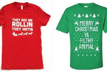 10 Funny Christmas Shirts Everyone Needs