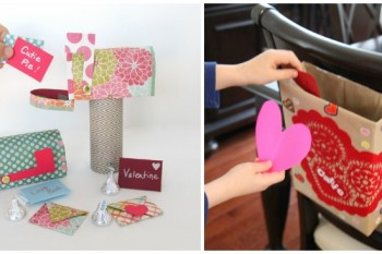 {25} Valentine Mailboxes That Are Almost Too Cute to Stand