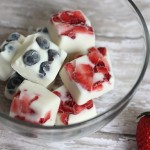 Healthy 4th of July Yogurt Bites