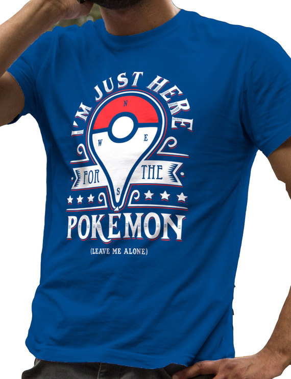 I'm Just Here For The Pokemon T-Shirt