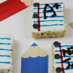 Notebook Rice Krispies – Back To School Snack