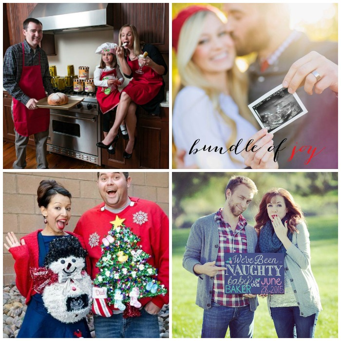 Christmas Pregnancy Announcements