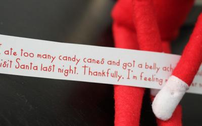 Printable Elf On The Shelf Excuses