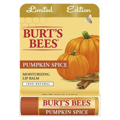 Burt's Bees Pumpkin Spice Lip Balm