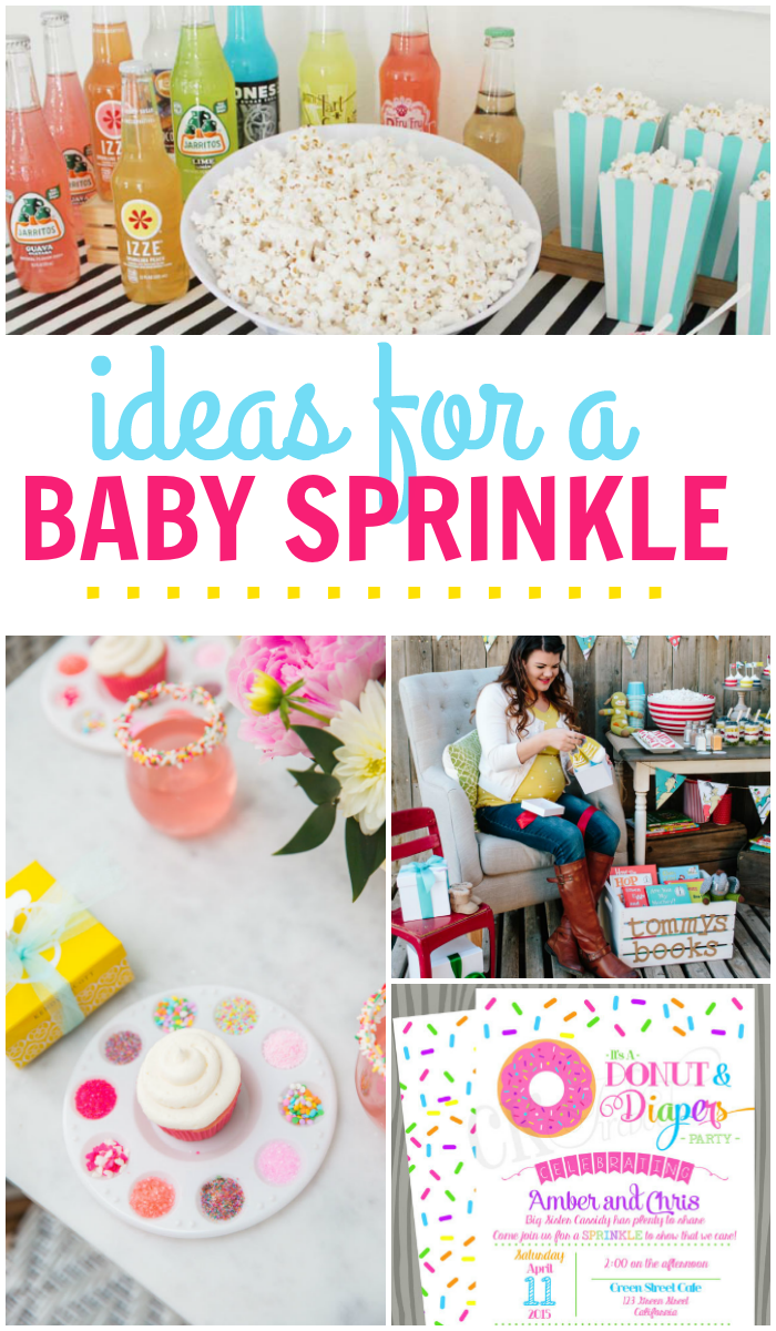 "Baby ""Sprinkle"" Ideas"