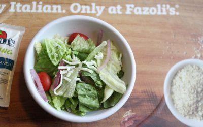 Family Dinner's at Fazoli's