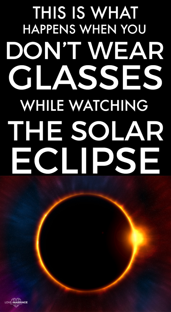 This Is What Happens When You View the Solar Eclipse Without Glasses